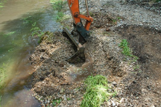 Plunket Greene's Bourne chalk stream restoration